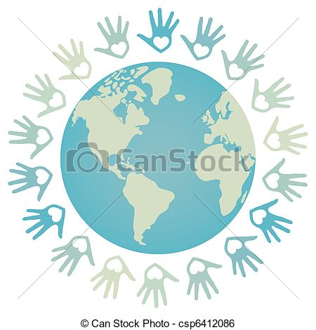 Peace clipart the world drawing World peace and Clipart 13