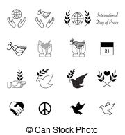 Peace clipart the world drawing Cancer  peace icons day