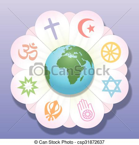 Peace clipart the world drawing World United Flower World Vectors