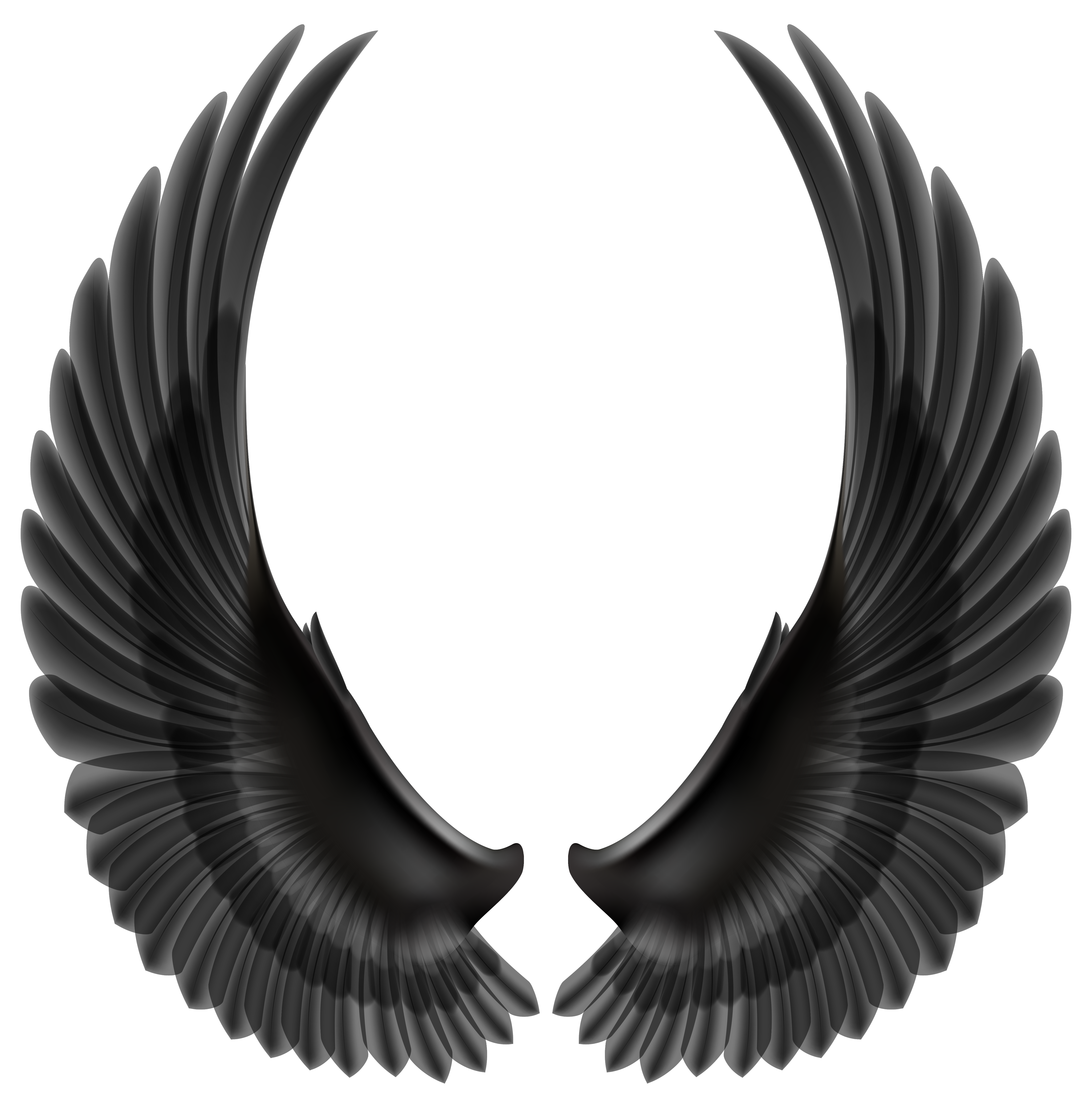 Peace clipart wing Clip silhouette wings angel peace