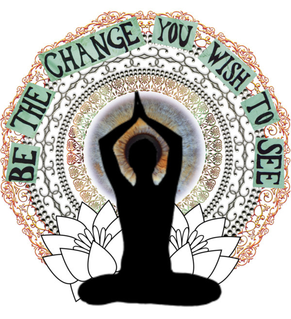 Peace clipart world tumblr You the world change wish