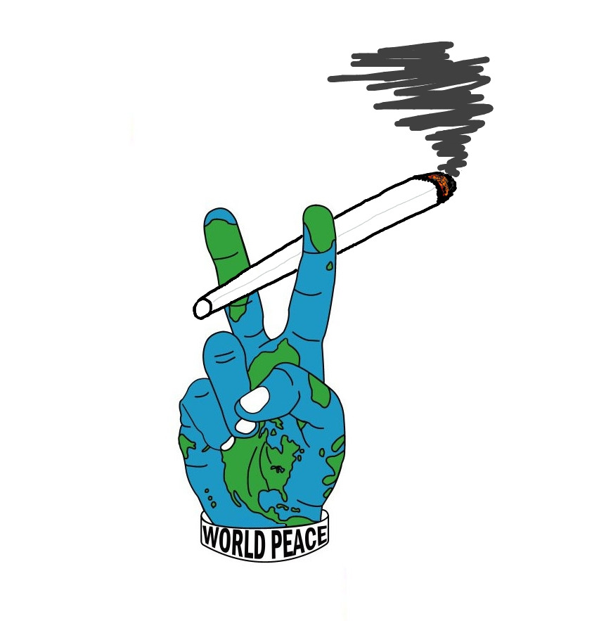 Peace clipart world tumblr 420 Weed  Graphics