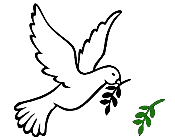 Peace Sign clipart dove Olive Bird Clip Free Cliparts
