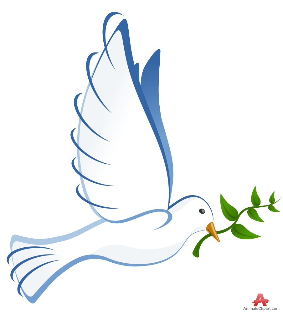Peace clipart pigeon peace With Branch Design Olive Free