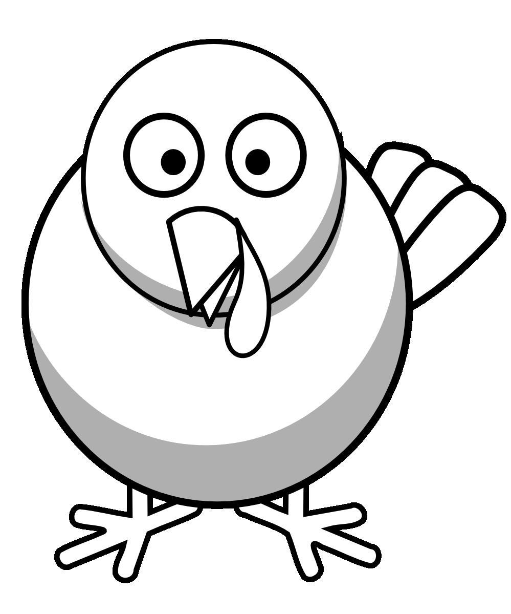 Peace Dove clipart black and white #15