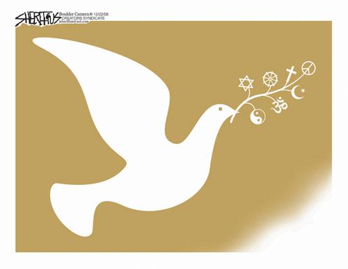Peace Dove clipart cartoon Cartoons Christmas Christmas cartoons Christmas