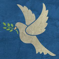 Peace Dove clipart lent Peace Dove Christmas Craft art: