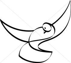 Peace Dove clipart lent Black and Dove White Clipart