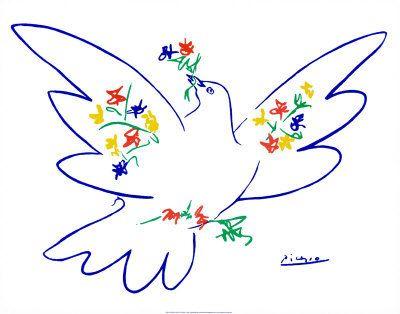 Peace Dove clipart memory #9