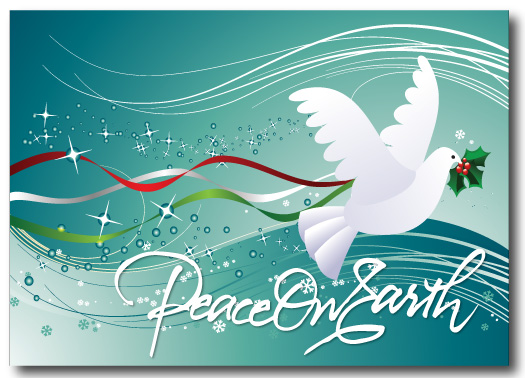 Peace Dove clipart merry christmas #7