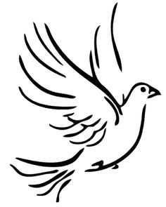 Peace Dove clipart mouth #4