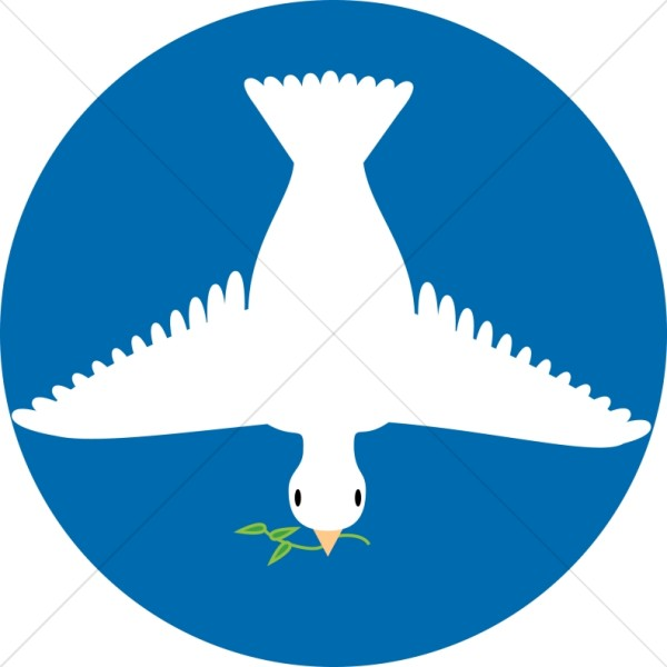 Peace Dove clipart mouth #6