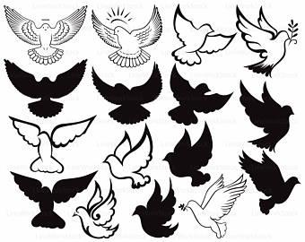 Peace Dove clipart ring clip art Clipart silhouette dove clipart dove
