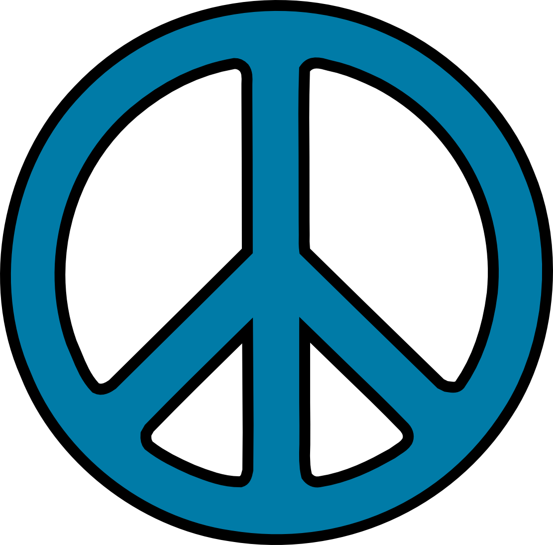Peace Sign clipart 70's Dancing sihlouettes 70s Clip