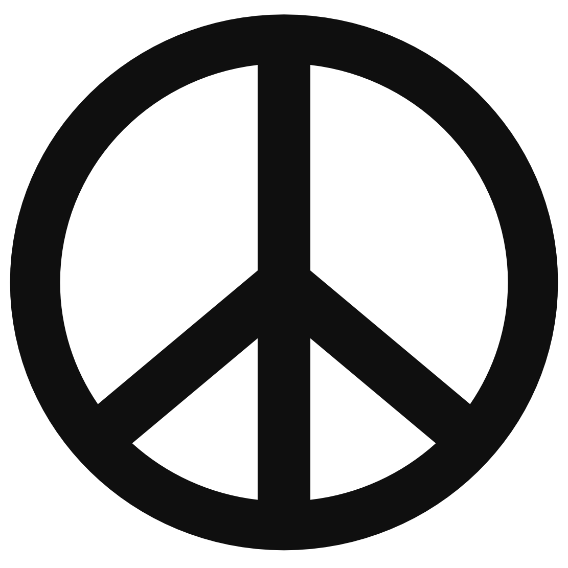 Peace Sign clipart Sign clipart templates Clipartix templates