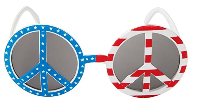 America clipart peace sign American American Flag Peace Sign