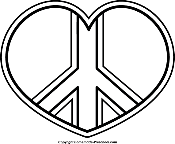 Zebra clipart peace sign Free sign peace clipart peace