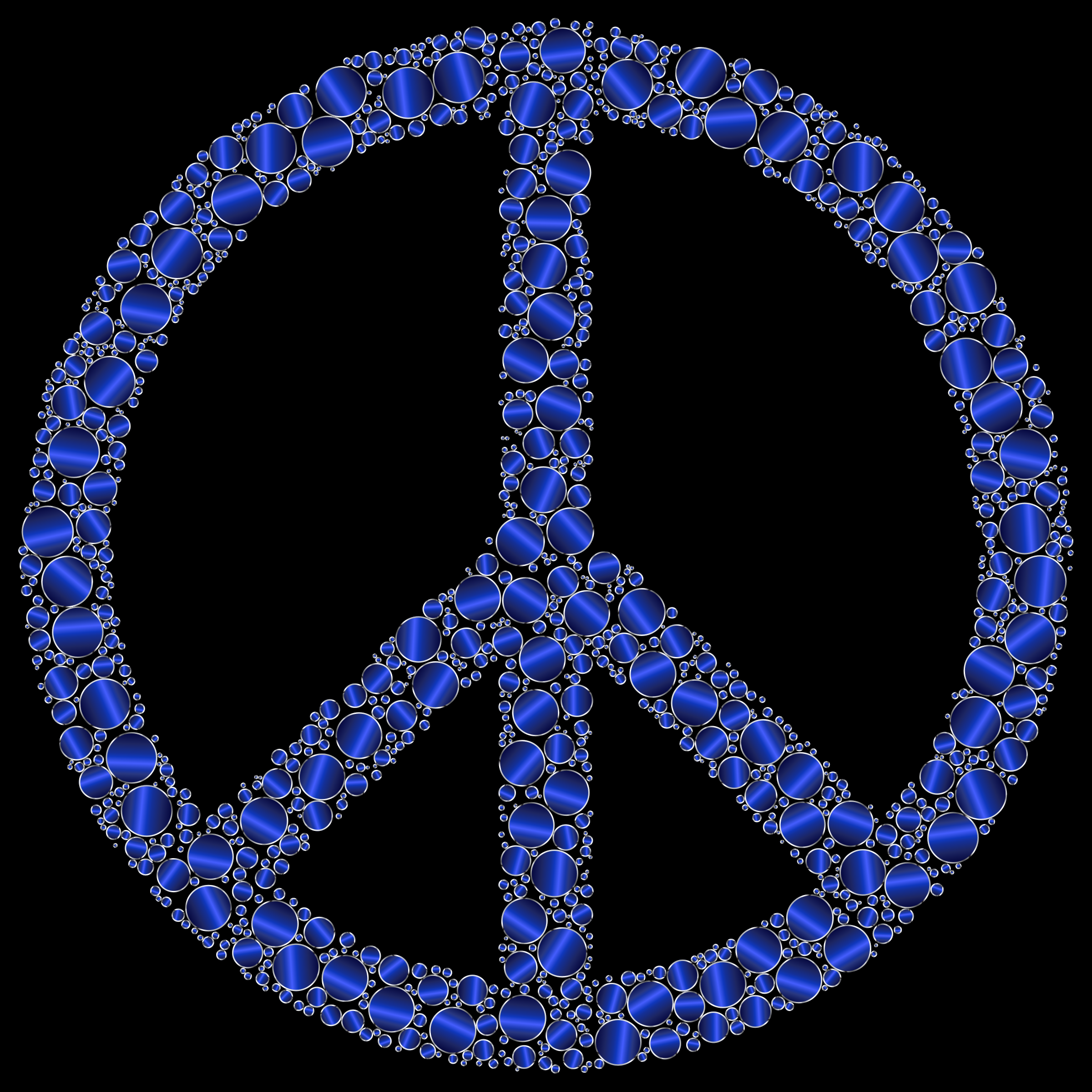 Peace Sign clipart blue Sign Clipart Peace Colorful Clipart