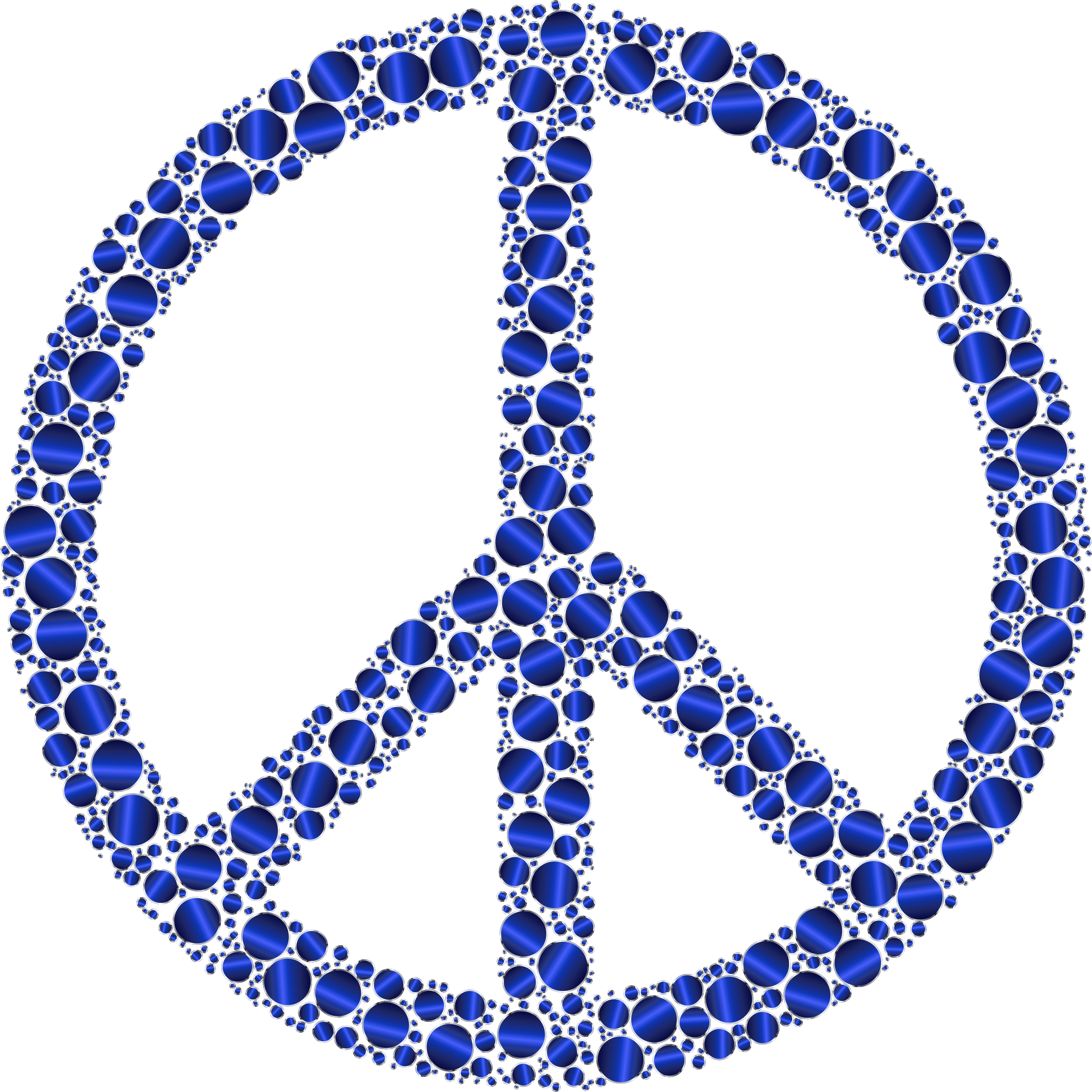 Peace Sign clipart blue Circles Peace Clipart Colorful Sign