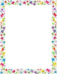 Peace Sign clipart border (SB3003) SparkleBox  borders page