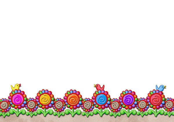 Peace Sign clipart border Download BORDER Clip Cards FLOWER