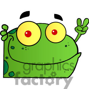 Peace Sign clipart cartoon Frog%20clipart%20for%20teachers Clipart Free Sign Clipart