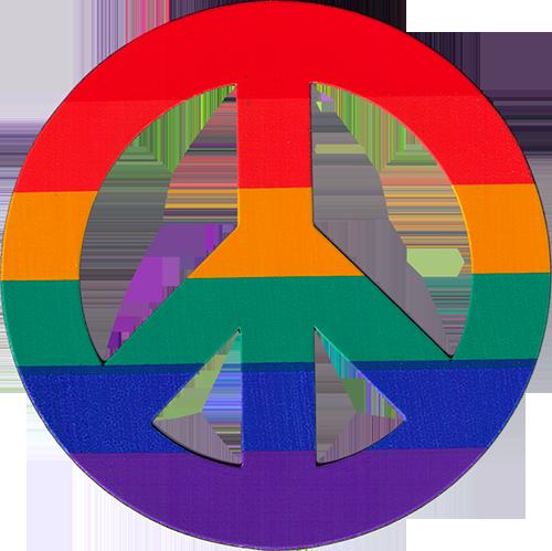 Rastas clipart peace sign Peace Symbols Rainbow CMP7 Flexible