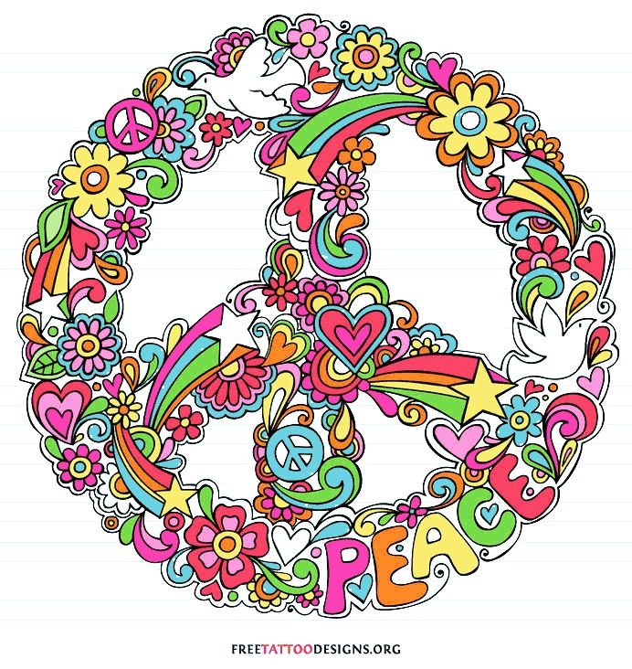 Peace Sign clipart cute Best about sign on images