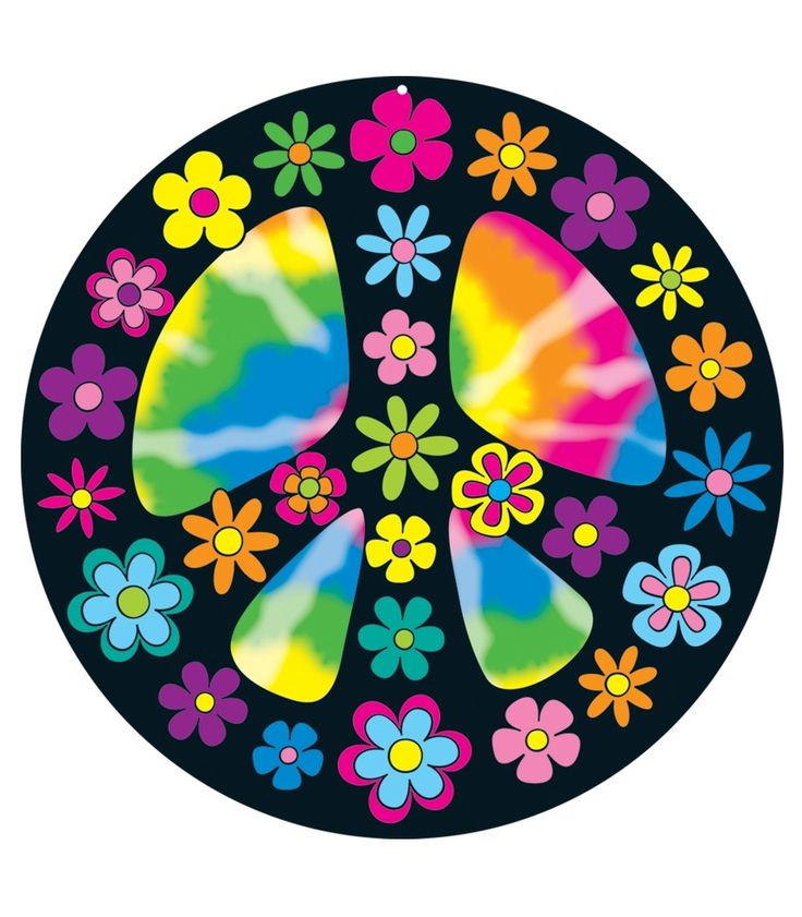 Peace clipart flower power More Pin Flower Love and