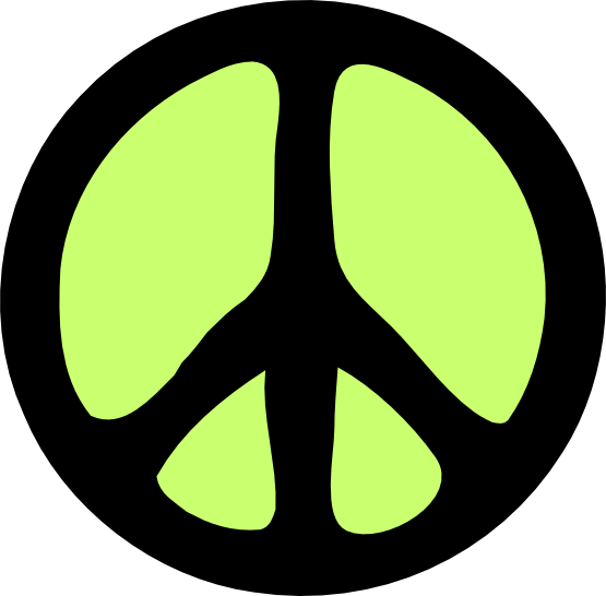 Peace Sign clipart green peace Olive Symbol Clip  Logo