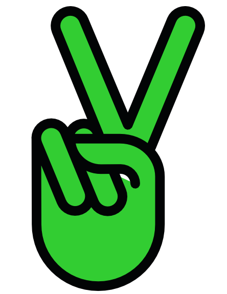 Peace Sign clipart green peace V clipartist Peace net Symbol