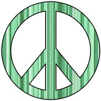 Peace Sign clipart green peace Green Clipart Album squidoodle's jpg