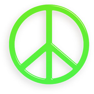 Peace Sign clipart green peace Sign Peace Animations Clipart Free