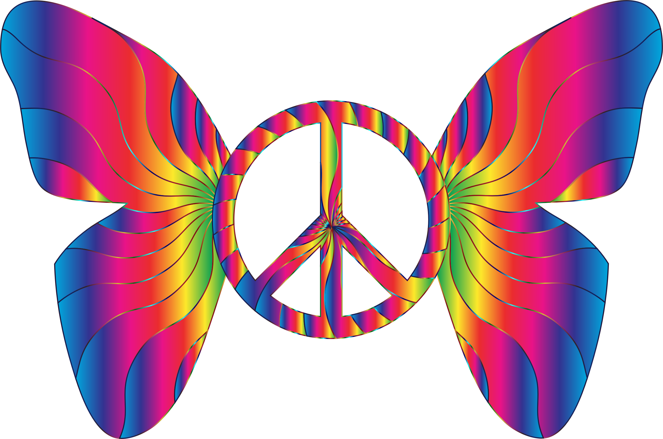 Peace Dove clipart groovy Butterfly Sign Clipart 14 14