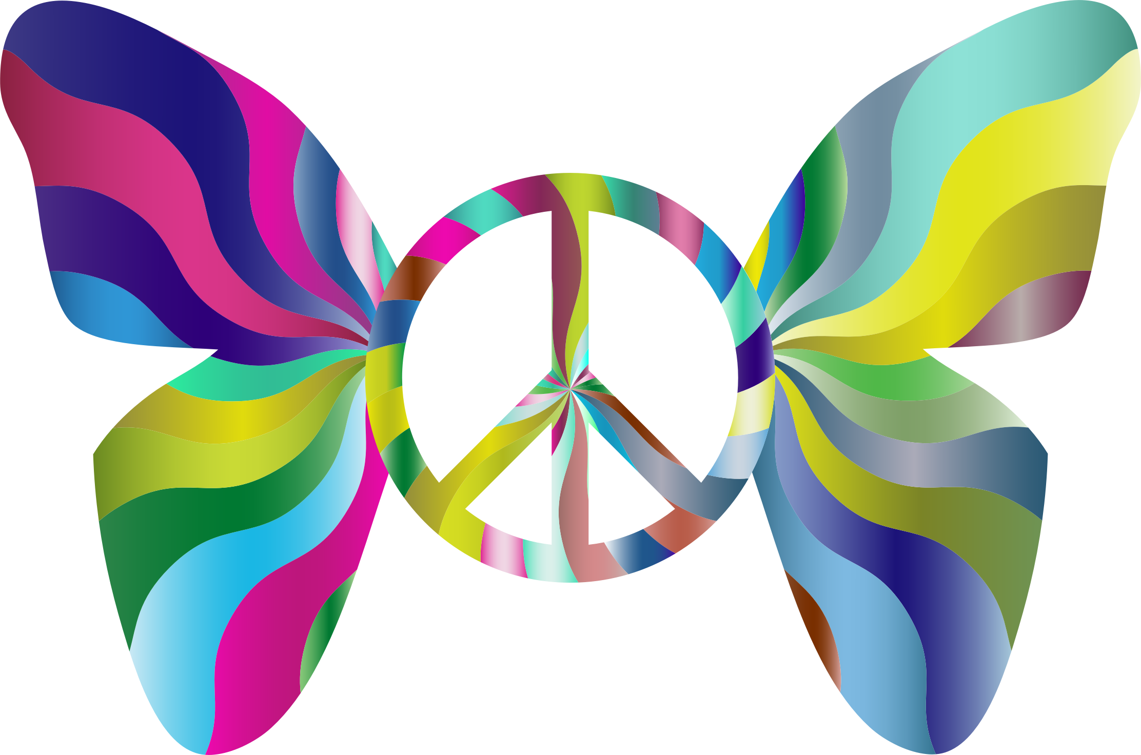 Peace Dove clipart groovy Butterfly Sign Clipart 4 4