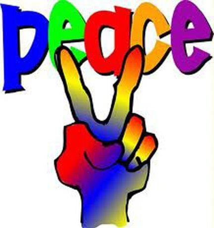 Peace Sign clipart pece Pinterest Doves Peace and Two