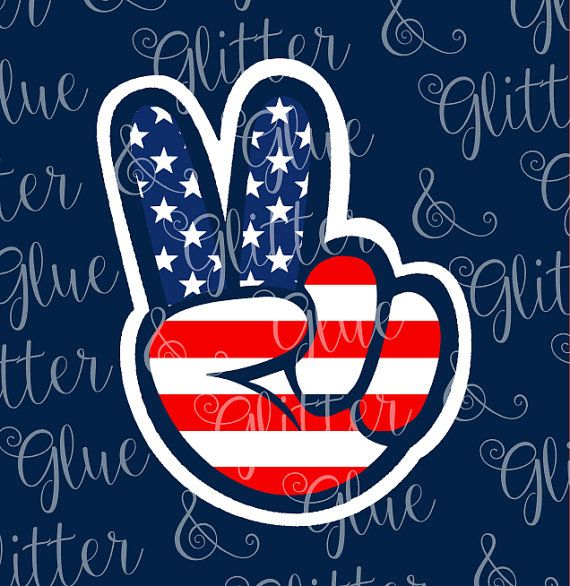 Peace Sign clipart patriotic Ideas Peace you Hand sign