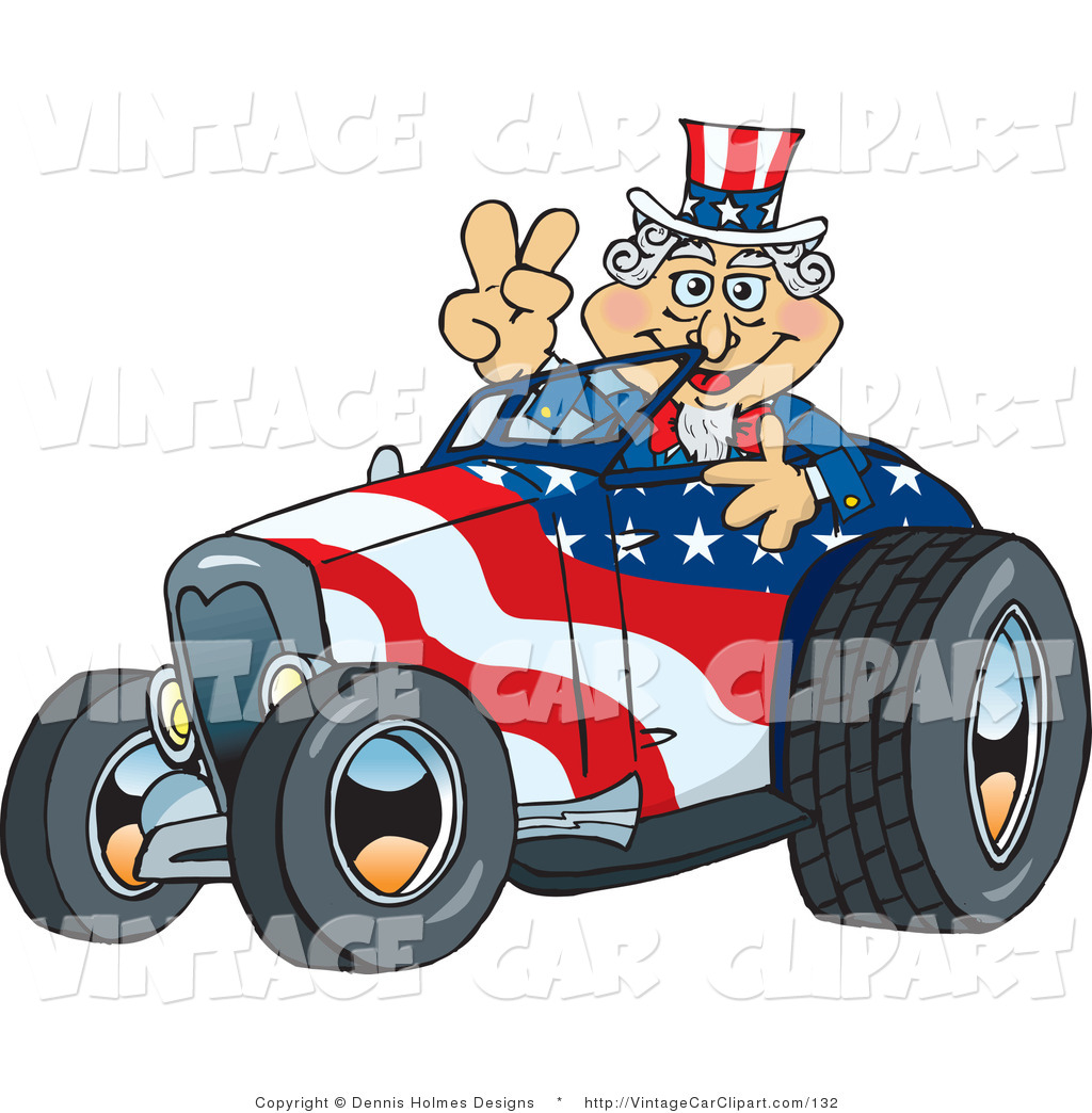 Peace Sign clipart patriotic The Roadster a Sam an