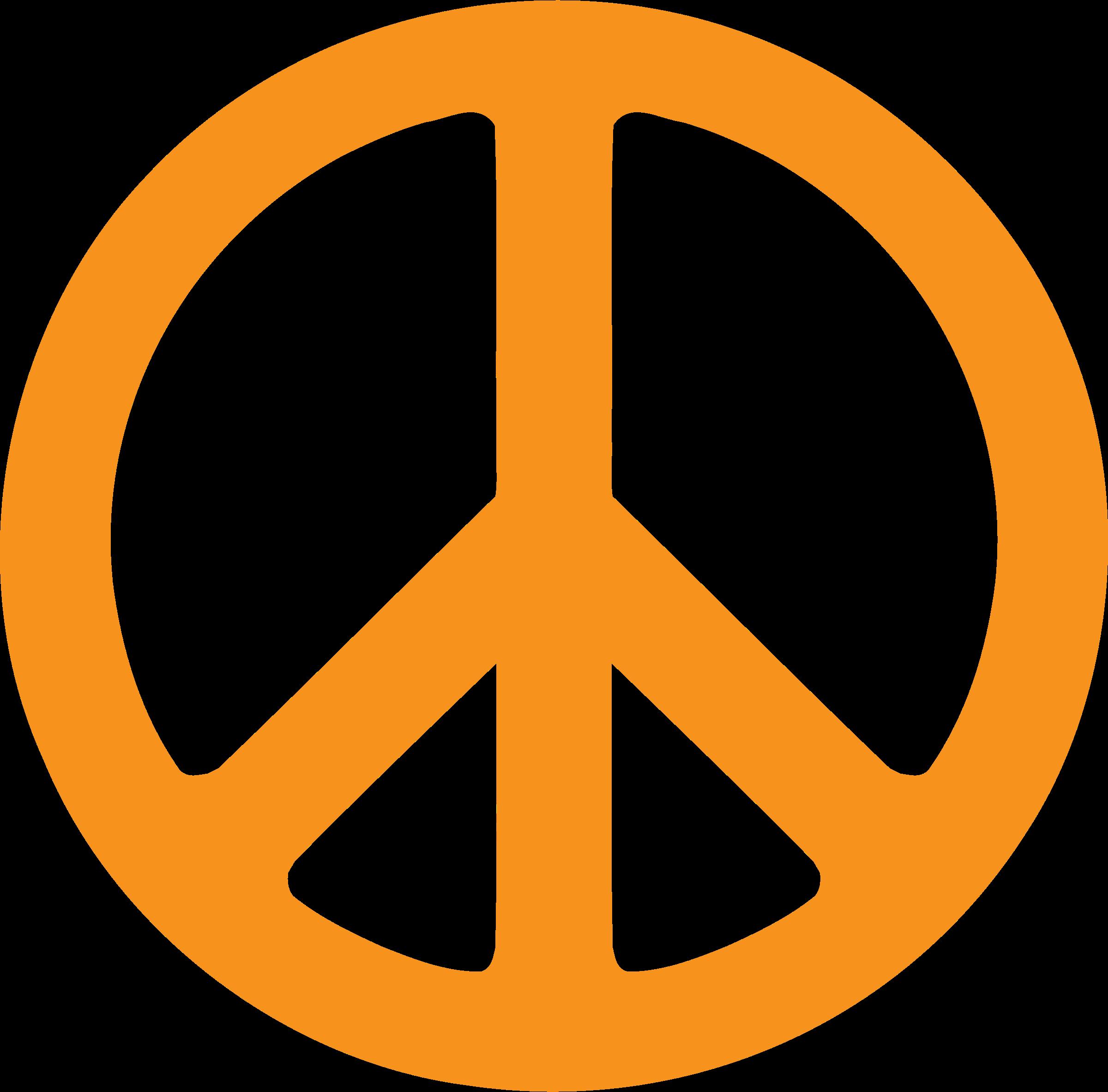 Zebra clipart peace sign Transparent Symbol Peace PNG Symbol