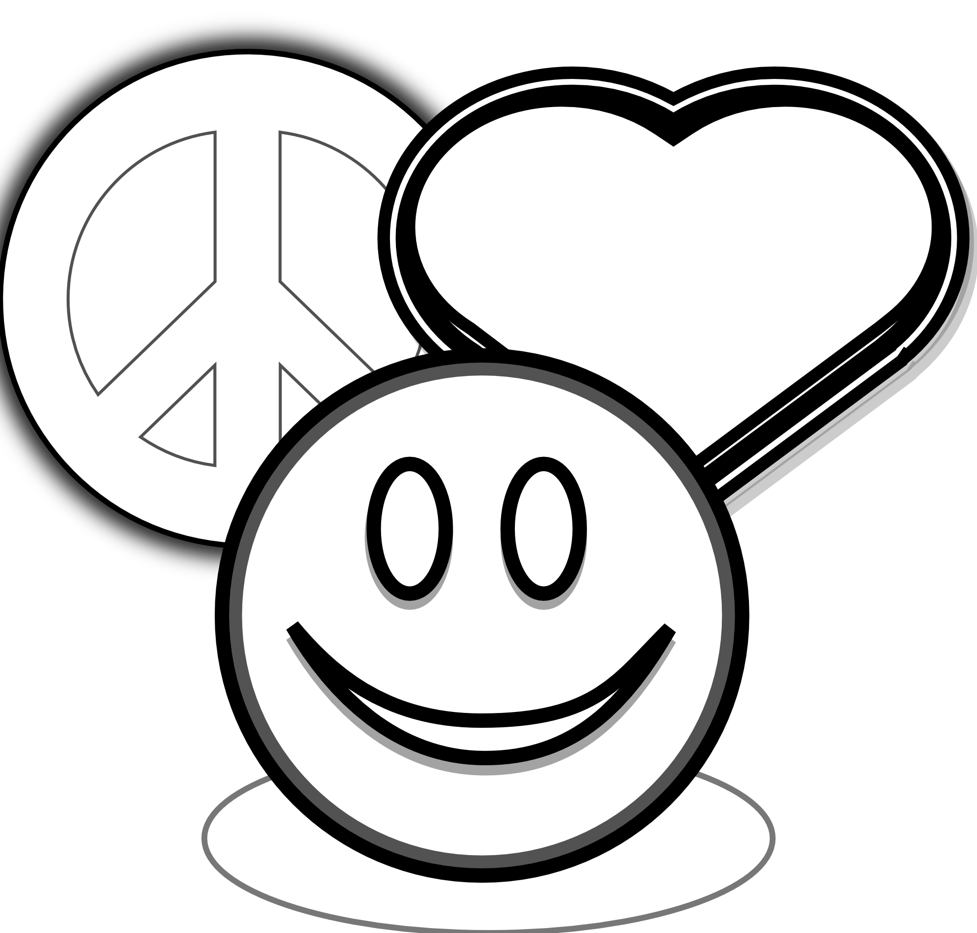 Peace Sign clipart peace and love Love Free Art: Clipart Panda
