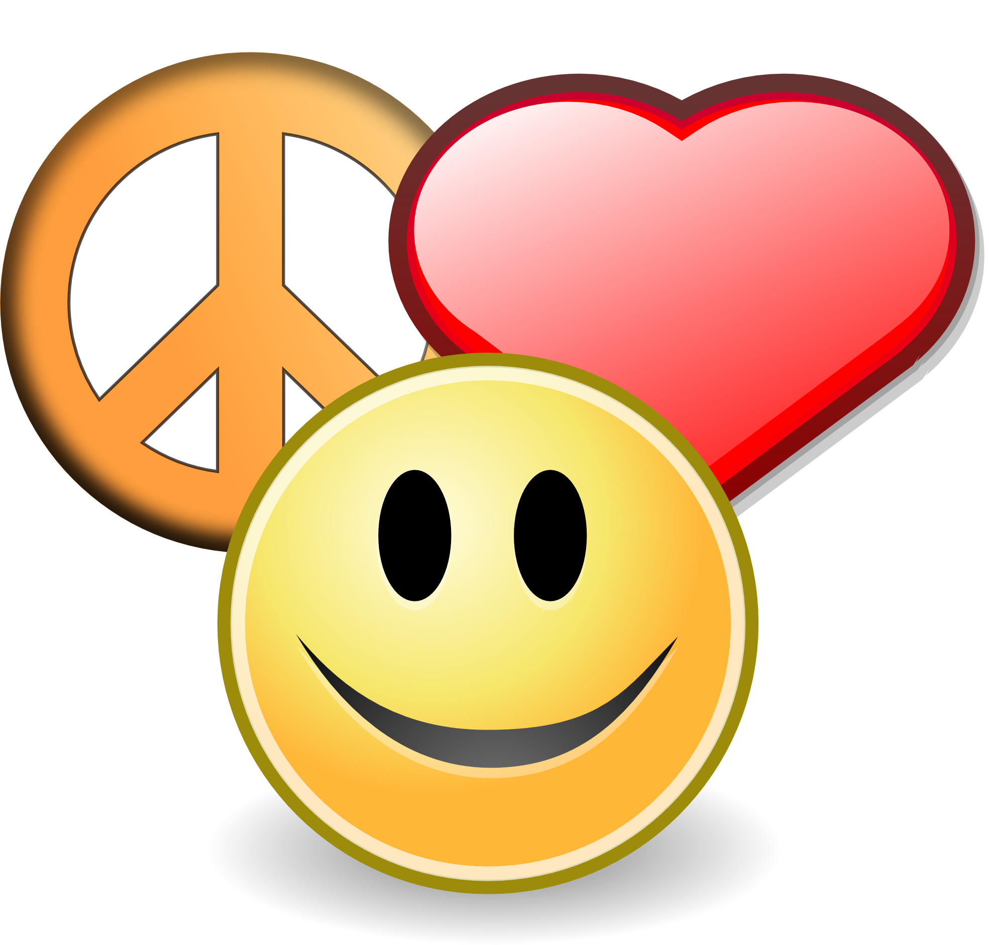 Peace clipart love and happiness On clipartist Free love Peace