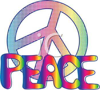 Peace Sign clipart peace word Images Peace and iCLIPART Word