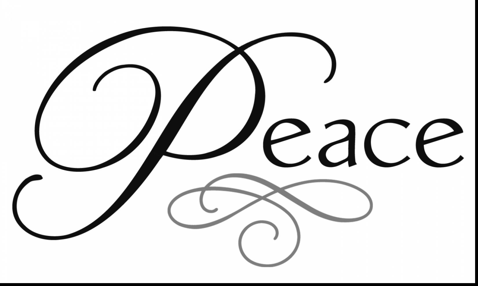 Peace Sign clipart peace word Christmas coloring and extraordinary dove
