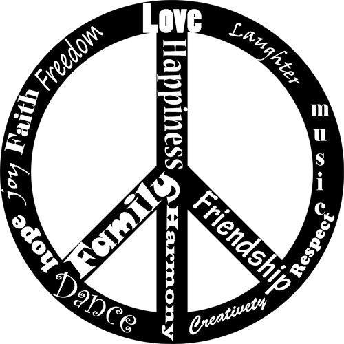 Peace Sign clipart printable Peace images Download art printable