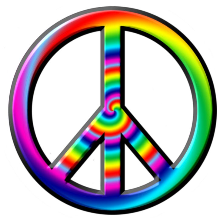 Peace Sign clipart psychedelic 572 earth about on on