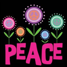 Peace Sign clipart rainbow stars Girls Free of and art