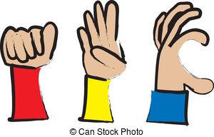 Peace Sign clipart sign language Sign   Language Sign