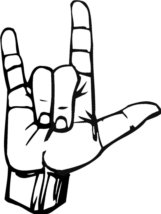 Peace Sign clipart sign language Ideas How Pinterest Feelings Sign