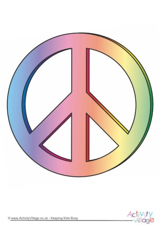 Peace Sign clipart simple For Kids Day Peace Peace