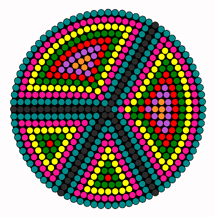 Peace Sign clipart simple On Simple Art Bead Bead